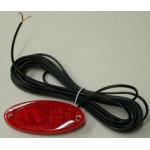 Seisontavalo punainen, upotettava, LED